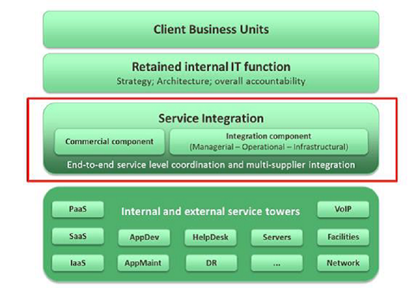 Service Integration and Management Structure